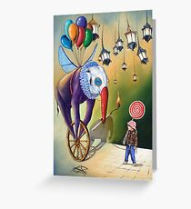 Imaginary Friend(FOR SALE) Greeting Card