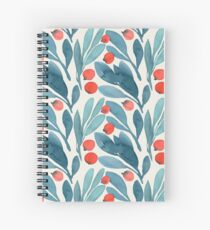 Winterberries Spiral Notebook