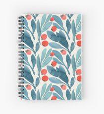 Cuaderno de espiral Winterberries