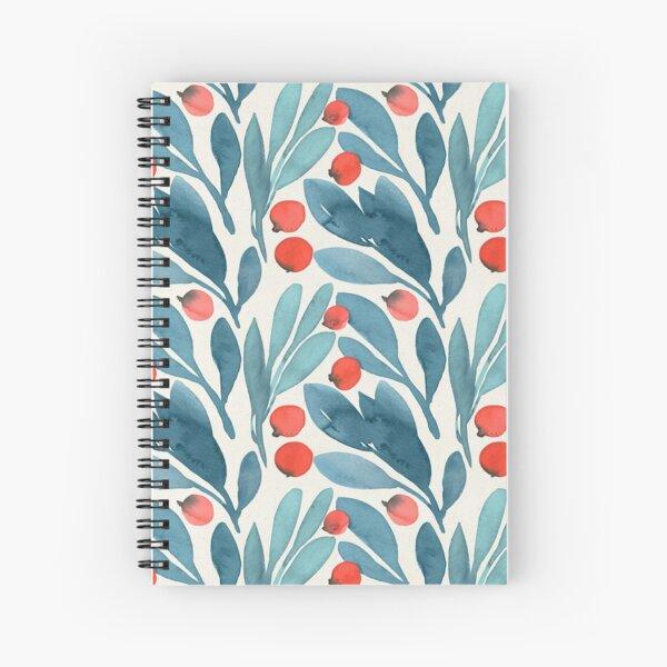 Winterberries Spiral Notebook