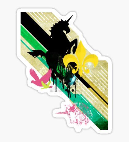 Unicorn T-Shirt Sticker