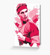 Rafa Nadal #2 Greeting Card