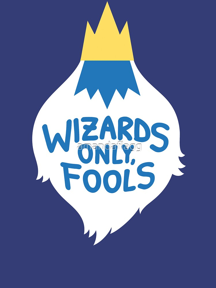 Wizards Only, Fools | Unisex T-Shirt