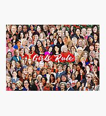 'Girls Rule' Labour Women MPs Photographic Print