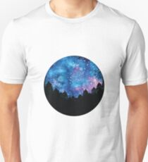 Night Sky Natural Wonderland Unisex T-Shirt
