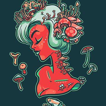 Madamme Mush by amandaflagg