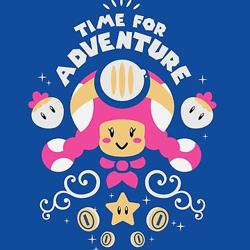 Time for Adventure Toadette by amandaflagg