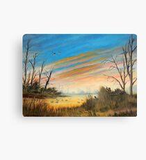 Evening Duck Hunt Canvas Print