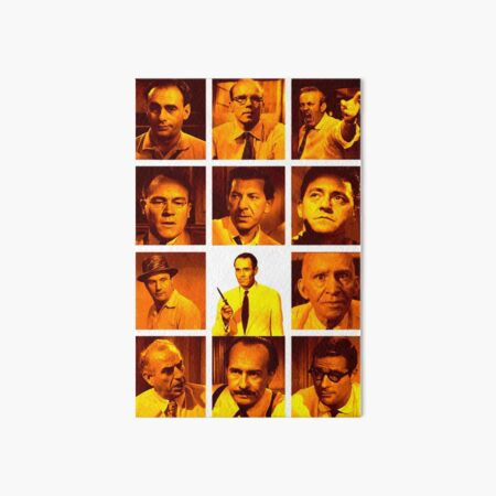 12 Angry Men Art Board Print