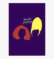 """The AbFab // """"Sweetie Darling"""" Photographic Print"""