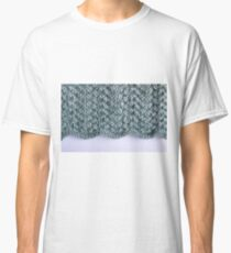 Duck egg lace knit Classic T-Shirt