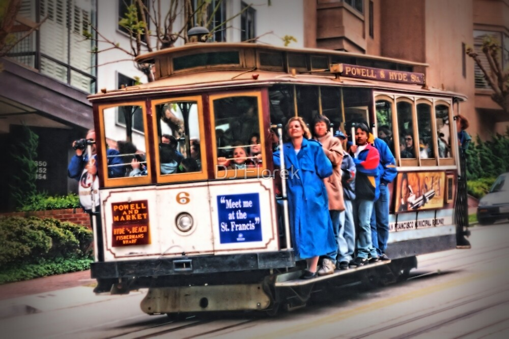 Frisco Cable Car by DJ Florek
