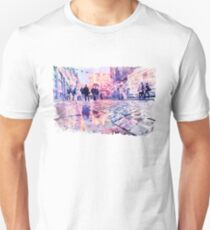 Dublin Watercolor Streetscape T-Shirt