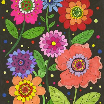 Colourful Flowers by chippychowmein
