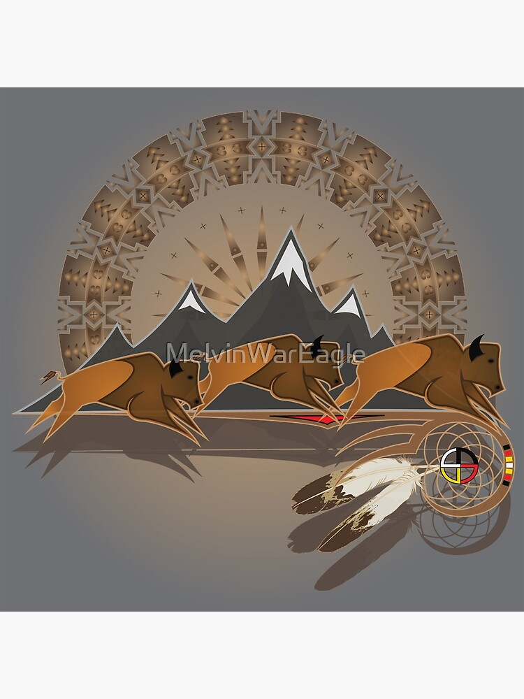Buffalo People by MelvinWarEagle