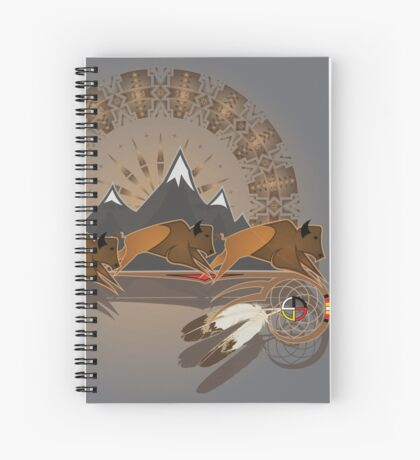 Buffalo People Spiral Notebook