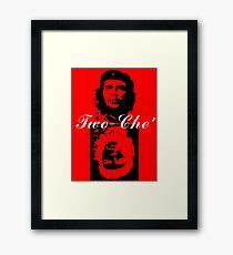 Two-Che' Framed Print
