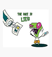 The Cake is LIES!!!! Photographic Print