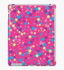 Seamless background with stars iPad Case/Skin