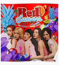 Red Velvet - The Red Summer Poster