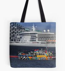 The Queen and the Dazzle Ferry Tote Bag