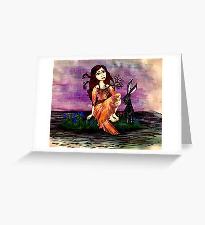 The Flowers of Evil (Les Fleurs du mal) II Greeting Card