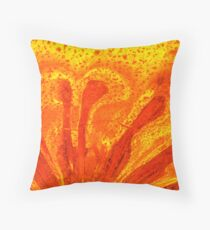 the view from inside Throw Pillow