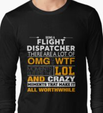 FLIGHT DISPATCHER BEST COLLECTION 2017 Long Sleeve T-Shirt