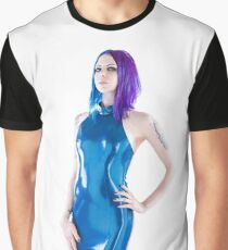 Gothic in a latex Dress Graphic T-Shirt