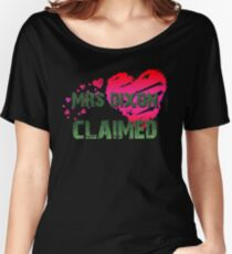 The Walking Dead - Mrs Dixon Claimed 2 Women's Relaxed Fit T-Shirt