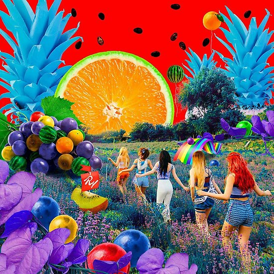 Red Velvet - The Red Summer by dreamingxoxo