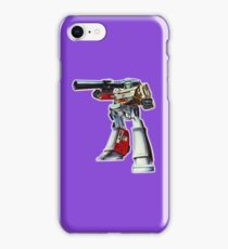 Retro Transformers Megatron G1 Toy Art iPhone Case/Skin
