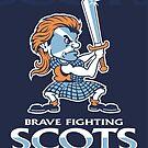 Brave Fighting Scots by JohnnyMacK