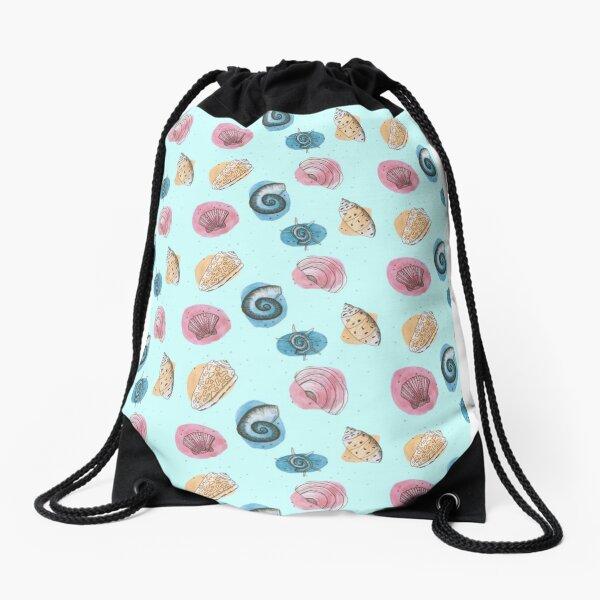 Shells Drawstring Bag
