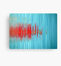 Slash of Red Canvas Print