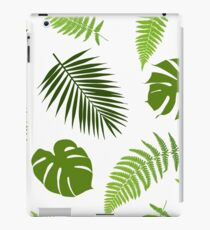 Tropical leaves iPad Case/Skin