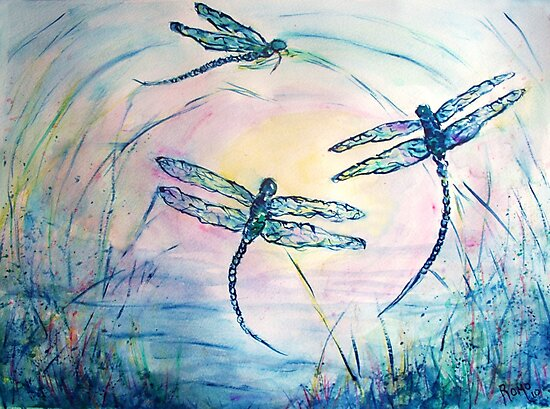 Dragonflies by Robin Monroe
