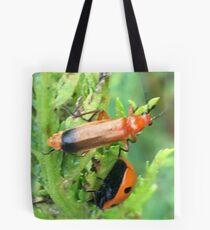 Soldier beetle Vs Ladybird Who Won? Tote Bag