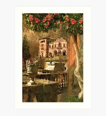 Ode to Maxfield Parrish Art Print
