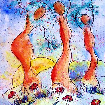 Tree Dancers by MyWeb