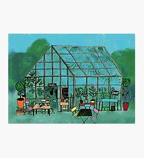 The greenhouse Photographic Print