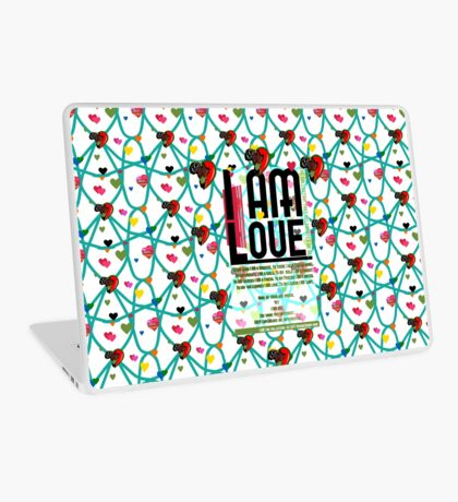 I am Love Laptop Skin