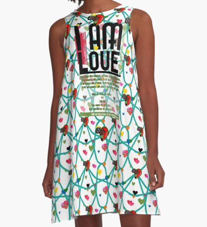 I am Love A-Line Dress