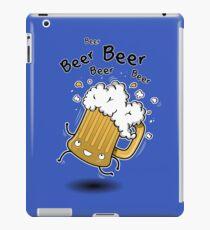 BEER BEER BEER iPad Case/Skin