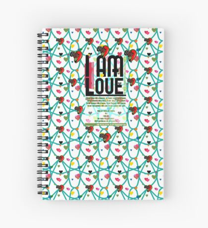 I am Love Spiral Notebook
