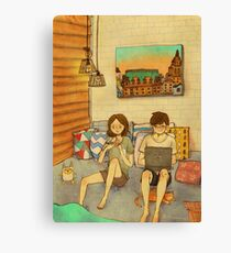 Laid-back afternoon Canvas Print