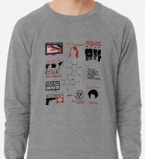Fringe-Zitate Leichtes Sweatshirt