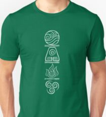 Avatar- The Four Elements Unisex T-Shirt