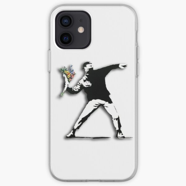 Anarquista Banksy Funda blanda para iPhone