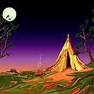 Camping... by Robin Monroe